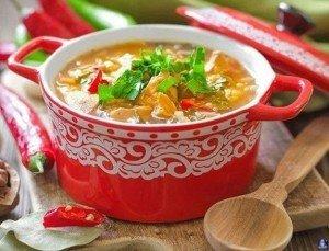 Суп харчо 1