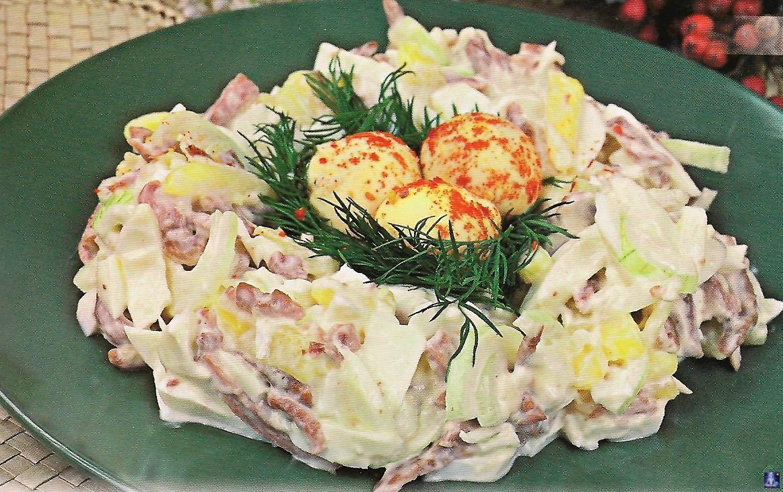Рецепты приготовления салаты на новый год