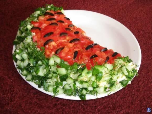 Красивые салаты для детей с