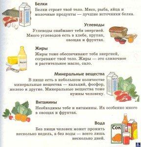 рацион питания для ребенка 9 лет