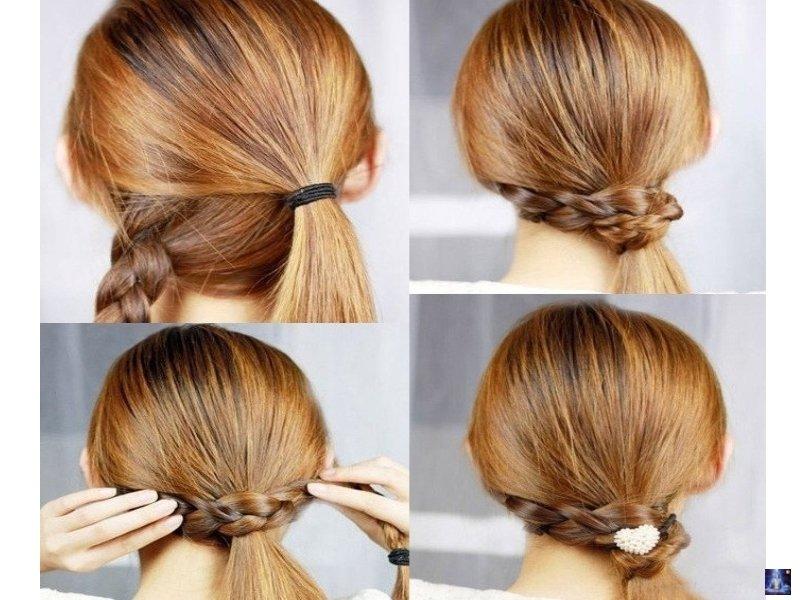 Красивые легкие и быстрые прически на длинные волосы видео - 12