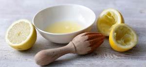 Лимонный сок от трещин на пятках