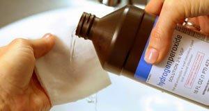 Компрессы с перекисью водорода
