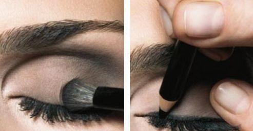 Делаем дымчатый макияж