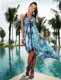 Как выглядеть стильно на пляже. Пляжные платья