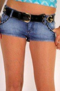 Модные джинсовые шорты - 5 вариантов