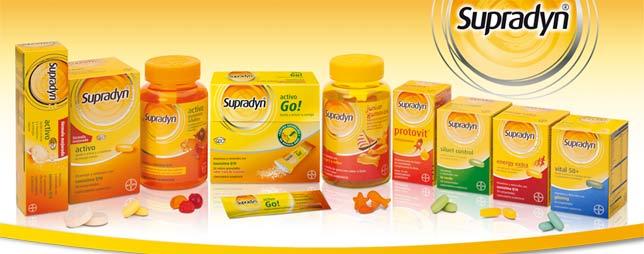 Виды витаминных комплексов супрадин